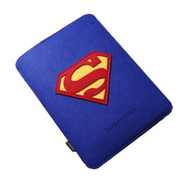 Wholesale minion bags - For Macbook Pro   Retina 13 inch Batman Superman Minions Cartoon Organizer Felt Laptop Bag For Macbook Air 13 inch Sleeve Cases