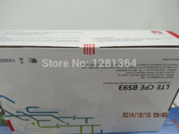 Wholesale Wireless Modem Antennas - Huawei B593s-22 Openline Unlocked LTE FDD TDD 150Mbps Modem Wireless Router+A pair of antenna Modem-Router Combos
