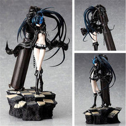 Wholesale Rock Shooter Figure - 29CM Sexy BLACK ROCK SHOOTER Action Figures Model Toys for Chilren Adult Cartoon Figure Home Furishing Article Toys