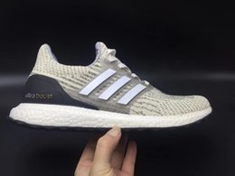 Wholesale Polka Dot Fabric Black - 2017 Casual Shoes 2018 Ultra Boost 3.0 All White Black Men and Women Ultra Boost 3.0 Triple Black Running Shoes 36-47