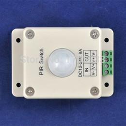 Interruptor de inducción del cuerpo humano de la luz al por mayor de 50PCS LED, interruptor llevado PIR del interruptor del sensor de detección infrarrojo # TC45 desde fabricantes