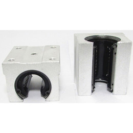 Wholesale 12mm Linear Rail Shaft - 1 Pc SBR12 12mm Aluminum Linear Rod Rail Shaft Support CNC Route B00321