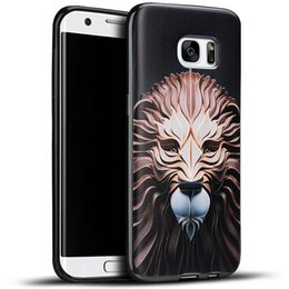 Wholesale 3d Cases For Galaxy S4 - 14 patterns 3D Relief painting Soft Case For Samsung Galaxy S4 S5 S6 S6 Edge S7 S7 Edge Iphone 4S 5S 6S 6SPlus