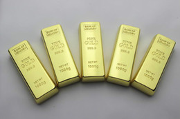 Wholesale 256gb Usb Memory Gold Bar - OLEEDA 2GB 4GB 8GB 16GB 32GB 64GB 128GB 256GB Gold Bar Metal USB Flash Drive Memory Stick Thumb Drive Pendrive For Tablet PC