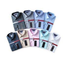 Wholesale Plus Size Formal Shirts - Wholesale 2017 New Brand Spring Autumn Casual Long Sleeve Men Shirt High Quality Cotton Formal Business Plaid Mens Dress Shirts Plus Size