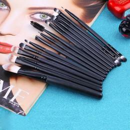 Wholesale red brown eyebrow - 15 pcs Set professional makeup Cosmetic beauty Kits Eye Shadow Foundation Eyebrow Lip Brush Makeup Brushes Set Tools