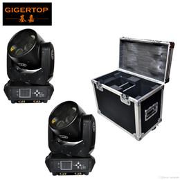 Argentina Paquete de cajas de carretera 2IN1 6x25W Sharpy Beam Led Cabeza móvil Rotación de luz Lente de vidrio DMX DJ Cabeza móvil Luz RGBW Trabajo silencioso Suministro