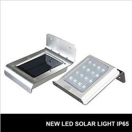 Wholesale Outdoor Pir Sensor Wireless - 16led LED soalr light Outdoor Wireless Solar Powered PIR Motion Sensor Light Wall light Led sensor lamp 2nd Generation