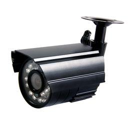 Wholesale Day Night Security Color Cctv - 700TVL Home Security Camera 24IR LEDs Color CMOS Video Surveillance Camera Day Night IP66 Waterproof Outdoor Indoor Bullet CCTV Camera