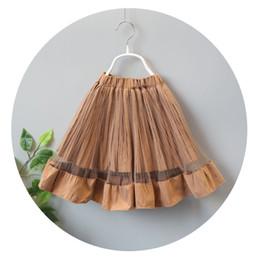 Wholesale Zebra Girl Skirts - Everweekend Girls Tutu Lace Skirts Ruffles Candy Color Cake Skirts Western Fashion Princess Holiday Clothing