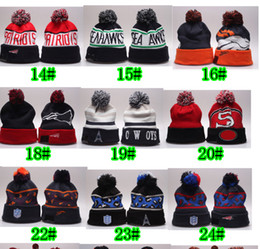 Wholesale Winter Cap Types - christmas hot sale winter Europe type cap man Football woolen hat Hip-hop hat ladies woman keep warm hats fashion cap 35colors free shippin
