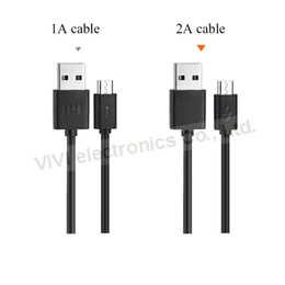 Wholesale Lenovo Original Phone - Original Xiaomi Cable Universal Flat Micro USB Data Cable 5V 2A Quick Charge Cable For xiaomi Oneplus Lenovo Huawei Phone etc