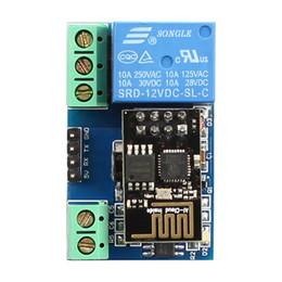 relè di potenza in miniatura Sconti ESP8266 12V Relè WiFi Internet of Things casa intelligente Cellp Hone APP teleswitch Trasmissione a distanza lontana
