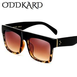 Wholesale Flat Top Retro Sunglasses - ODDKARD Casual Flat Top Sunglasses For Men and Women Retro Brand Designer Square Sun Glasses Oculos de sol UV400