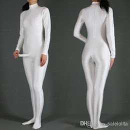 Wholesale Suit Penis - New Arrival Fancy Costumes Lycra White Spandex Zentai Suit With Men's Penis S-XXL