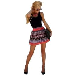 Wholesale Lace Skater Dresses - Wholesale-Women Sexy Sleeveless Lace Skater Evening Party Short Mini Summer Vestido Dress