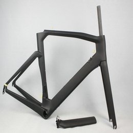 Wholesale Super Light Bike Frame - Wil Bikes Aero Design Carbon Road Frame Cadre Carbon BB386 bicycle carbon frame super light road bike frameset free shipping