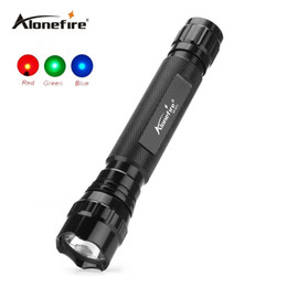 Wholesale Handheld Water - 501C Tactical LED Flashlight Handheld Flashlight Tactical Torch Water Resistant Lamp for Red blue green Tactical led light Outdoor Sports
