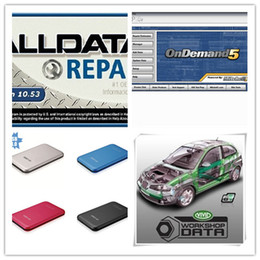 Wholesale Alldata Software For Cars - Free Shipping! Newest Car Repair Software Alldata 10.53+M.itchell on demand 2016+Vivid And so on 45 in1 Software in 1TB HDD