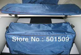 Wholesale Inflatable Boat Bag - seat bag boat inflatable boat sit board bag color blue or grey waterproof seat bag for inflatable boat free shipping