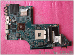 Wholesale Motherboard Dv7 Laptop - 665987-001 board for HP pavilion DV7 DV7T DV7-6B DV7-6C laptop motherboard with intel DDR3 HM65 chipset 6490 1G DUO