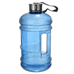 Canada Vente en gros - 2,2 L demi Gallon Gym Workout course convinients Fitness Bouteille d'eau livraison gratuite cheap gallons water bottle Offre