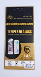 Wholesale Star Screen Protector - For Alcatel One Touch Pop 4 Plus S3 Idol 4S Pop Star Tough 9H Hardness Clear Tempered Glass Film Screen Protector 100pcs model