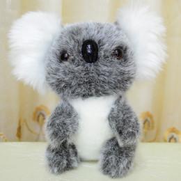 Wholesale Cute Koala Bears - 18cm Cute sitting koala plush toy doll koala bear plush toys Lovely kids Plush Toys Educational toys Kids Xmas Christmas Gift