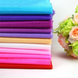 Wholesale Organza Fabric Wholesale Rolls - Wholesale-Wholesale sale! 50meter Roll Sheer Crystal Organza Fabric For Wedding Decoration or party decoration.Width 75CM Free shipping