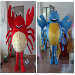 Wholesale adult sea costume - High Quality Crab Mascot Costume Cartoon Character Costume Adult Size Sea Aniaml Crab Cartoon Mascot Christmas Party Costumes