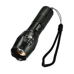 Lanterna tática levou o poder on-line-2017 Novo Gosund T6 Lanternas LED-À Prova D 'Água Zoomable Lanterna Tática de 5 Modos de Luz de Alta Potência LED Torch com Fundo Clique