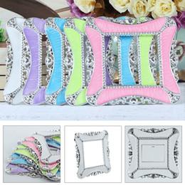Switch Stickers Cover Socket Wall Light Home Shape Decoration 5 colori Decorazione quadrata in resina plastica a parete da