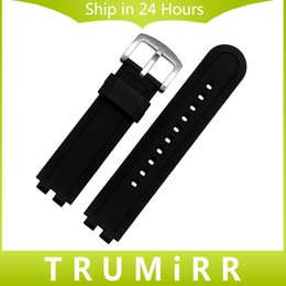 Wholesale Watch Band Spring Bars Tool - Wholesale-22mm Silicone Rubber Watchband for Pebble Steel 2 Smart Watch Band Replacement Strap Resin Bracelet with Tool & Spring Bar Black