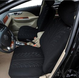 Wholesale Car Seat Breathable Fabric - 9pcs set Car Seat Cover full sets Universal Fit 5 seat SUV sedans front back seat elastic washable breathable Looped Fabric