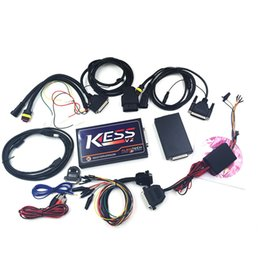 Wholesale Obd Car Software - 2017 ECU Chip Tunning obd car tools latest version KESS V2 V2.3 OBD2 Tuning Kit NoToken Limit Kess V2 Master FW V4.036 Master version