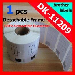 Wholesale Dk Rolls - Wholesale-3 x Rolls Brother Compatible Labels dk-11209 dk 11209 dk11209 dk-1209 dk1209 Thermal Small Address Label