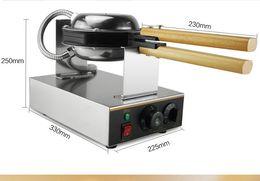 Wholesale Electric Ovens - Free shipping Hongkong Stainless Steel Electric Egg cake oven;220v,110v,QQ Egg Waffle Maker; egg waffle machine