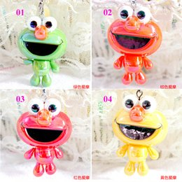 Wholesale Animal Elmo - Sesame Street Elmo Pendant Cute Cartoon Keychains Elmo Pendant Key Rings Multi Color Elmo Pendant Key Chains Car Key Rings