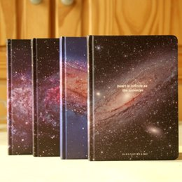 Wholesale Romantic Fashion Trend - Wholesale- New Stationery Fashion romantic starry sky Stars Travel diary NoteBook Beautful Milky Way Students' notepad note book gift 352