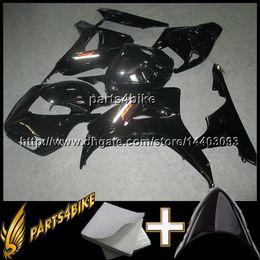 Wholesale Black Body Molding - 23colors+8Gifts CBR1000 RR Fairing Fits 100% INJECTION MOLDING Body Kit Fairing for Honda CBR 1000 RR black 06 07