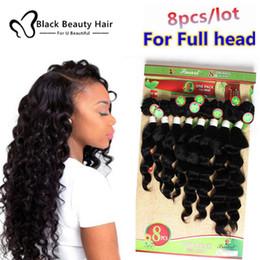 Wholesale Virgin Ombre Hair For Weave - Kadoyee 8pcs Lot brazilian virgin hair extension Loose Wave Deep wave Weave 8 Bundles one pack for full head Cheap Human deep wave Hair