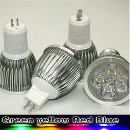 Canada Lumière LED allume 9W 12W 15W vert jaune / rouge / bleu GU10 E27 GU5.3 MR16 220V 12V 24V cheap led mr16 red green blue Offre