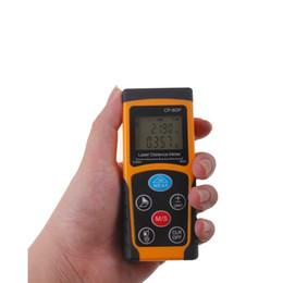 Wholesale Mini Industry - 2016 New Arrival Professional CP-60P Handheld Digital Laser Distance Meter Mini 60M LCDRange Finder Diastimeter For Construction Industries
