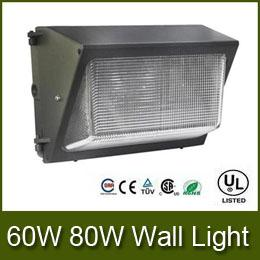 Wholesale Cheap Wall Mounts - 2016 Cheap AC110-277V IP65 60W 80W led wall pack light lamp outdoor led wall mounted light lamp equivalent 400W traditional wallpack lamp