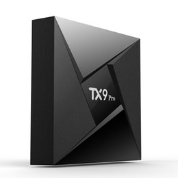 2019 mini pc octa Amlogic S912 Smart Box TV Android 3G 32G TX9 Pro Inteligente Octa-Núcleo Mini PC 2.4G / 5G Wifi BT4.0 4 K Set Top Box 1000 M TVbox mini pc octa barato