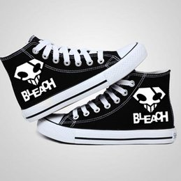Wholesale Bleach Anime Shoes - New Arrival Anime BLEACH Cosplay logo Canvas Shoes,Outdoor Leisure Fashion Sneakers,Unisex Casual Shoes