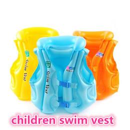 Nuovi bambini nuotano gilet piscina per bambini nuoto giubbotto di salvataggio per bambini giacca di protezione per bambini salvare vestito gonfiabile gilet per bambini kid397 da