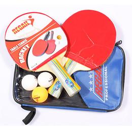 2019 bolsa de asa de goma Mango largo Shake-hand Juegos de raqueta de tenis de mesa Ping-Pong Rubber Paddle Bolsa impermeable Bolsa interior Tenis de mesa Accesorio rebajas bolsa de asa de goma