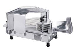 2019 cortador comercial Novas 3/16 de polegada classe comercial Uso Choppers industriais máquina de corte Tomate cortadores de aço inoxidável tomate Slicer cortador comercial barato