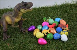 Wholesale Magic Dinosaur Eggs - 54pcs  Cute 3.5*2.5CM T002 Magic Growing Dino Egg Hatching Dinosaur Eggs Add Water Growing Eggs Easter Egg Child Funny Novelty Toy Gift